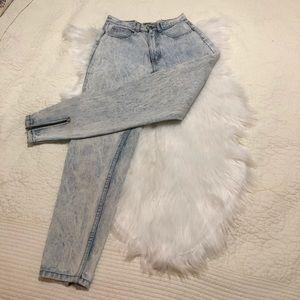vintage jordache high waist acid wash jeans sz 7/8